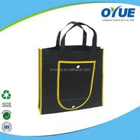 OEM Eco reusable foldable non woven fabrics bag making
