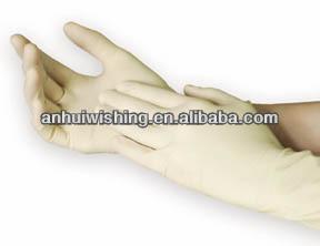 低価格の熱い販売医療使い捨てラテックス検査用手袋
