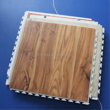 imitation wood interlocking pvc flooring