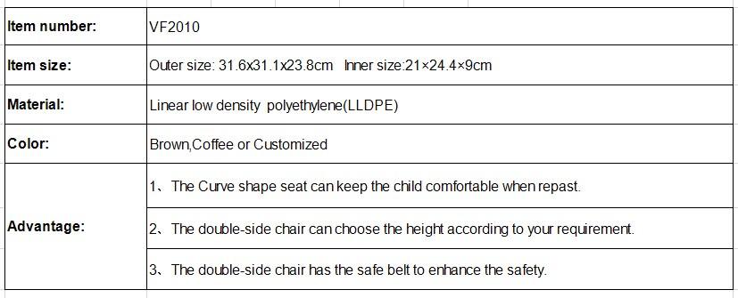 Boa qualidade de segurança cadeira produtos populares do bebê assento do bebê