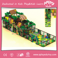 Attractive Colorful LLDPE Indoor Adventure Playgrounds