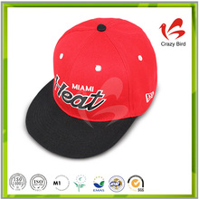 Free coupon embroidery custom snapback hat wholesale
