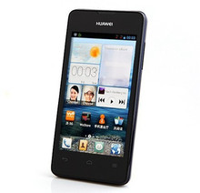 4.0inch cheap smart mobile huawei y300 dual core 512M Ram 4G Rom 5.0MP back camera dual sim card with GPS bluetooth