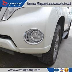 for 2014 Toyota Land Cruiser Prado Exterior Accessories High quality ABS chrome Car front fog light cover