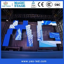 Full RGB Color Stage Led Screen,Led Running Message Display Module 220V
