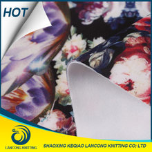 Fabric supplier Textile supplier Elegant Knit polyester fabric neoprene rubber