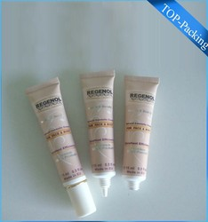 hand and foot whitening cream packaging tube,whitening creams packaging tubes