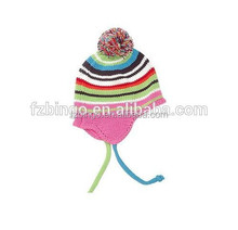 Baby hats wholesale custom beanies with ear muff