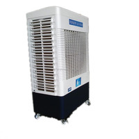 5500mh airflower rechargeable air cooler with swing motor 120W for home