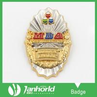 Unique High Quality Metal Badge Emblem