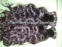 High quality cheap price body wave/curly wave virgin Vietnamese/Indian/brazilian human hair