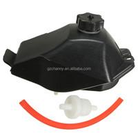 Gas Petrol Tank w/ Cap + Pipe Hose + Filter Kit For Mini Moto ATV Quad Bike Kart