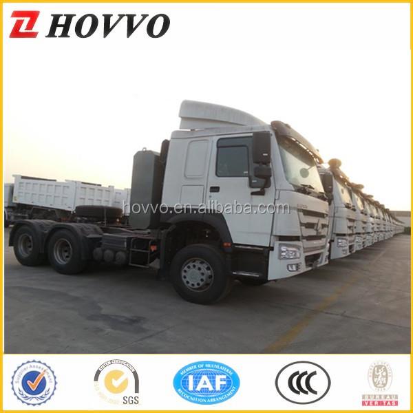 Tractor Trailer Head On : Tractor trailer head sinotruk howo truck prime