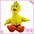 Alta calidad de la felpa del juguete del pájaro