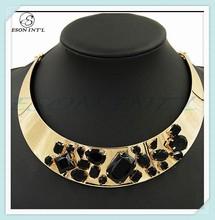 2015 Hot Collar Imitation Jewelry, Round Costume Jewelry, Fine Jewelry Manufacturer China