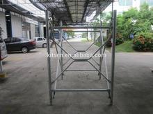Galvanized Steel V Shoring Frame Scaffolding