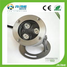 Ip68 6W led underwater light for swimming pool CE RoHS