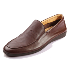 Wholesale made in italy pure men latest leader fancy soft leather mens casual shoes 2013