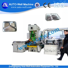 Yangli brand Aluminum foil dish container punching machine with mould