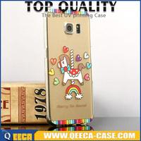 Hot sale/new transparent tpu printing custom gel phone case