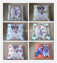 dog design chair cushion