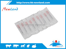 2015 hot sales new type disposable plastic veterinary animal hypodermic needles