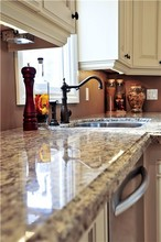 custom made solid wood imitate kitchen cabinet cherry wood or mahogany