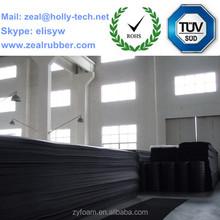 nitrile foam board/mat for machinery
