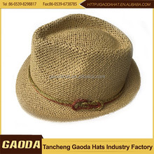 High quality with low price wide brim fedora felt hats