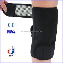 Hot sale protective shell for sport crossfit knee sleeve, self heating knee brace