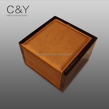 Exhibition popular wood perfume packaging box supplier