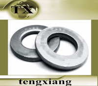 steel and stainless steel flat washer used as fastener
