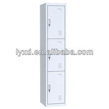 3-Door Furniture Bedroom Metal Locker