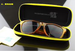 Custom wholesale waterproof hard eva eyeglass case