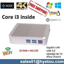 Mini pc core i3 support 4K resolution intel atom n270 mini pc 4G DDR3 RAM 16G SSD low cost mini computer ,USB 3.0 Bluetooth