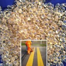 Gardner value polyamide hot melt bond for road markings