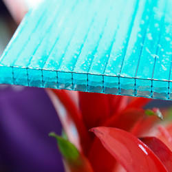 High Quality 10-year Warranty ISO Certification 100%Bayer Marolon solar polycarbonate panel sheet with UV protection