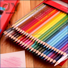 Eco friendly Colourful Writing Pencils Personalized Wooden Water Soluble Color Pencil for Kids / 12 24 36 48 color