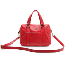 CSS1472-001- wholesale Genuine leather happy big red leather satchel bag
