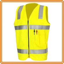Custom protective suit hi vis working vests reflective safety vests