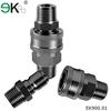 flat face quick coupling hose connectors/air quick coupler NPT