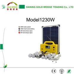 2015 Hot Selling 30W 12V Solar Home Panel Kit Price