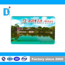 HF 13.56 Mhz Nanxun Public Bicycle S50 Rfid Smart Card