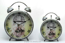 Modern wall clocks and antique table clock for sale