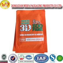 20-50kg environmental recycled pp pvc PE woven bag with film coatingfor plastic raw material
