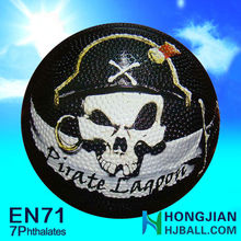 7 inch custom basketball cheap price in jiangsu