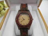 Quartz violet wood watch Original grain 100 natural wood watch