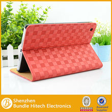 2014 New product stand flip leather cover for ipad mini 2