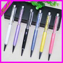 High quality Rhinestone crystal ball pen/crystal pen/pen with crystals