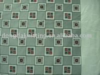 32s 220gsm 100% cotton print double side interlock fabric